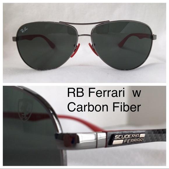 b3d9248c584aa Ray-Ban Ferrari Aviator RB8313M color F001 71 sz61